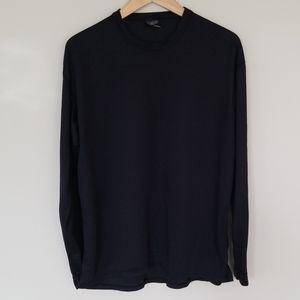 Patagonia crew neck black thermal shirt Xl